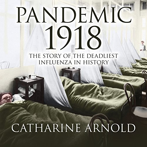 Pandemic 1918 audiobook cover art
