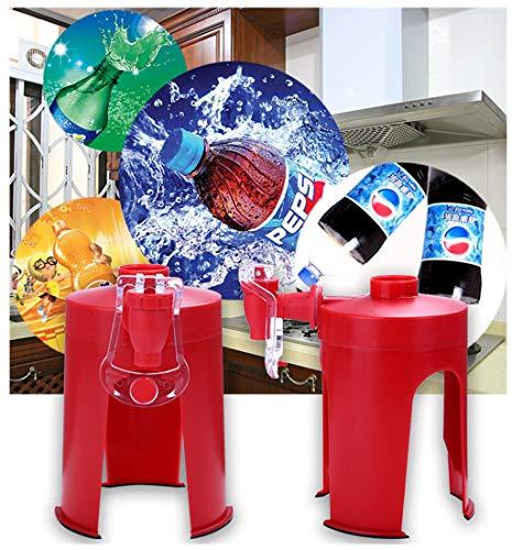 La Deuxième de génération de coke de création bouteille à la main Pressé distributeur INVERSE de boisson buveur de carbonatée à la dispositif maison inversé machine à boissons Coca-Cola