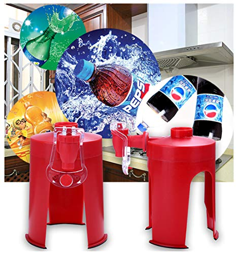 La Segunda Generación de creativos Coca-Cola Botella Invertida Bebedor presionado a Mano Bebidas carbonatadas Invertida Dispositivo de máquina de Bebidas Casa Máquina de Coca Cola