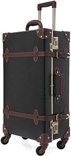 crocodile leather suitcase