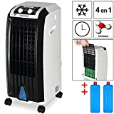 Deuba Climatiseur 4 en 1-4 Roues - Ventilateur Climatiseur humidificateur...