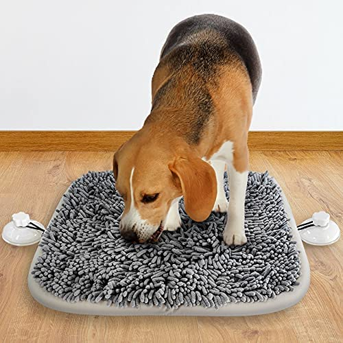 """Pet Snuffle Mat for Dogs,21"""" x 17"""" Dog Snuffle..."""