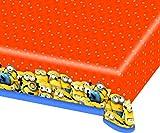 Amscan-33844 Minions, Mantel de Plástico, multicolor (Ciao Srl 33844)