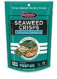 Almond Sesame Seaweed Crisps - Seapoint Farms, 1.2 oz Bag, 12 Pack