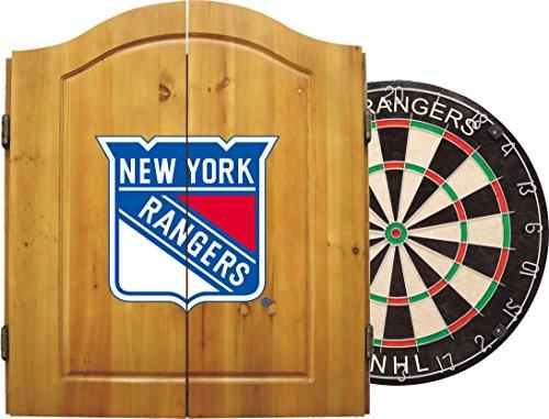 Imperial Offizielles Lizenzprodukt NHL Dart-Schrank Set mit Stahlspitze Borsten Dartscheibe und Darts, Unisex, Edelstahl, One Size Fits All