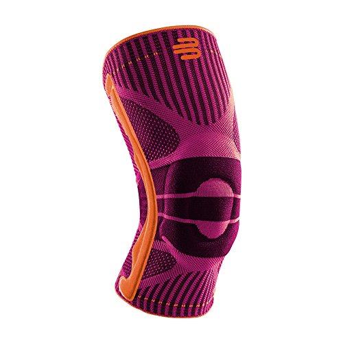 """Bauerfeind Kniebandage """"Knee Support"""" , 1 Sportkniebandage für Fußball, Joggen oder Fitness, Meniskus Knie-Bandage mit Silikonring, Rechts & links tragbar"""
