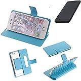 K-S-Trade® Flipcover Für Shift Shift5.3 Schutz Hülle Schutzhülle Flip Cover Handy Case Smartphone Handyhülle Blau