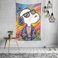 スヌーピー Snoopy タペストリー インテリア おしゃれ 部屋飾り 壁飾り アート 人気 壁掛け 飾り 間仕切り 装飾 装飾用品 家 寝室 部屋 窓カーテン 可愛い 毛布 北欧 カーテン 背景布 お祝い プレゼント 母の日 防寒 多機能