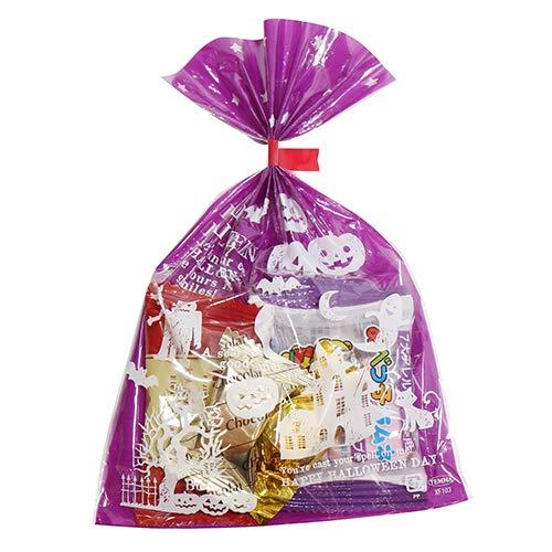 ハロウィン袋 100円 miniパック 4 チョコ 駄菓子 袋詰め おかしのマーチ (omtma5824)