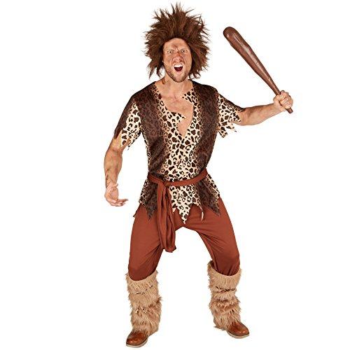 TecTake dressforfun Disfraz para Hombre Edad de Piedra | Incl. cinturón y Unos Atractivos Calentadores (XXL | no. 301343)