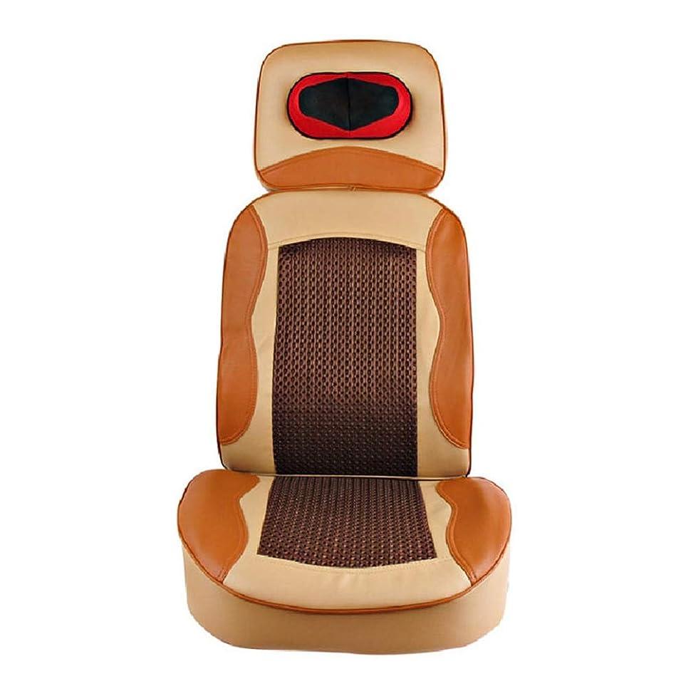 起訴する忘れられない瞑想的マッサージのクッション - 首の腰後部腰掛けホームオフィスのための打たれた振動椅子のためのマッサージのクッション