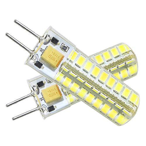 XIX Neueste G6.35 GY6.35 LED 5W Birne Leuchtmittel Hohe Helligkeit Äquivalent zu 60Watt Halogenlampe 12V Kühles Weiß 6000K(2er-Pack)