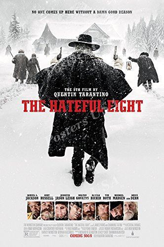 Posters USA The Hateful Eight Movie Poster GLOSSY...