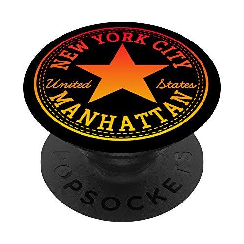 New York City Manhattan USA - Disfraz de Estados Unidos PopSockets PopGrip Intercambiable