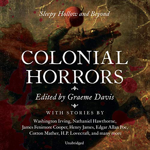 Colonial Horrors audiobook cover art