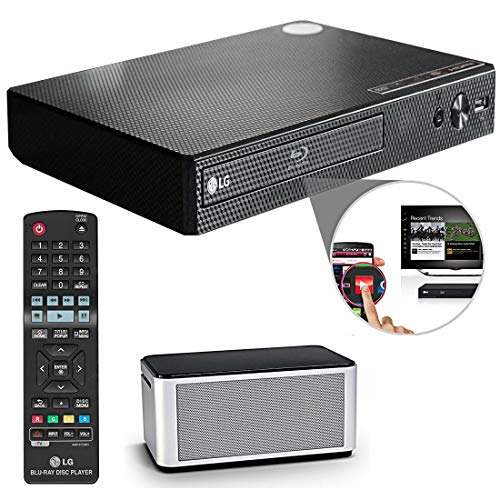 Best Deals! OREI LG Electronics BP550 Wi-Fi and 3D Smart Blu-Ray Disc Player and HDMI Cable + Remote