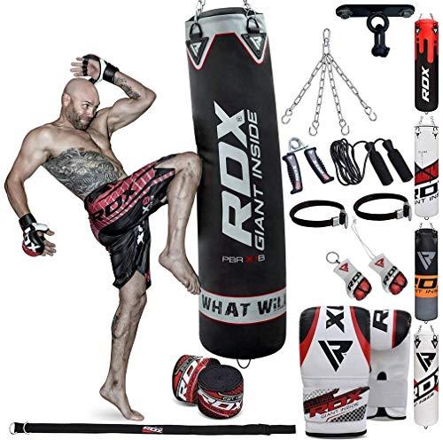 Alomejor Mitaines de Boxe Mitaines de Punch Curved Focus Pads en Cuir PU Perforation Kick Pad pour MMA Muay Thai