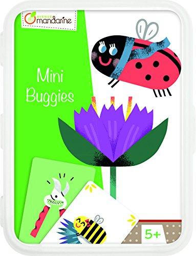 Avenue Mandarine CO105O - Un jeu de 46 cartes Mini Buggies en boite plastique refermable