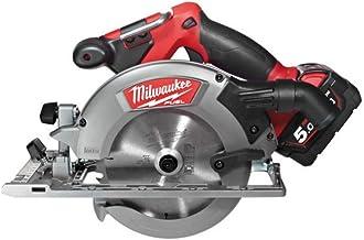 Milwaukee M18 CCS55-502X - Sierra circular (5,5 cm, 5000 RPM, 4,1 cm, 80,8 dB, 91,8 dB, 1,59 cm)