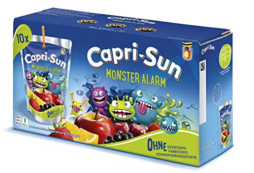 Capri-Sun Monster Alarm, 4 x 10 x 200 ml