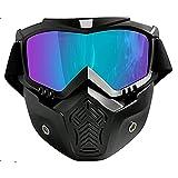 TININNA Unisex Gafas de esquí Máscara...