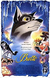 MariposaPrints 66156 Balto Movie Kevin Bacon, Bob Hoskins Decor Wall 36x24 Poster Print
