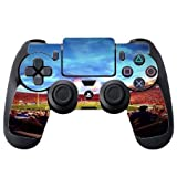 College Football Stadiums PS4 DualShock4 Controller Vinyl Decal Sticker Skin by Compass Litho