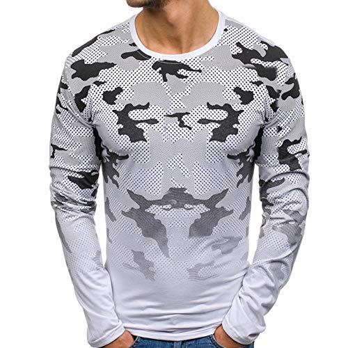 Mr.BaoLong&Miss.GO Otoño E Invierno Camiseta De Manga Larga para Hombre Suéter para Hombre Camisa Larga para Hombre Tamaño Europeo Casual Top para Hombre Camisa De Fondo Superior