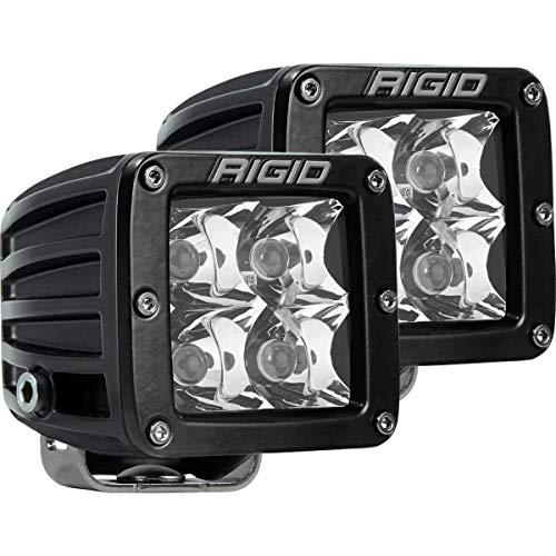 Rigid Industries 202213 LED Light (D-Series Pro, 3', Spot Beam, Pair, Universal), 2 Pack
