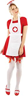 fun shack Womens Nurse Costume Adults Instant Hospital Nursing Uniform Accessories