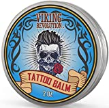 Viking Revolution Tattoo Care Balm for Before, During & Post Tattoo – Safe, Natural Tattoo...