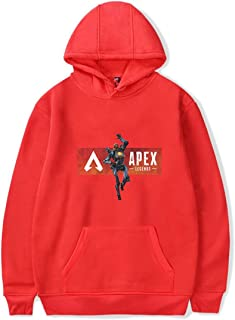 Mens Sweat Shirt Apex Legends Boys Hoodie Jumper Unisex Pullover Anime Characters Comfortable Leisure Long Sleeve