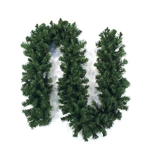 mygarden Ghirlanda Verde Natalizia Lunga 270cm Larga 30 cm con 270 Rami Doppia e folta per Le tue Decorazioni Arriva imbustata singolarmente Offerta