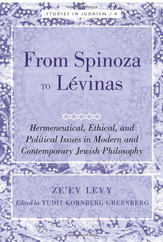 Levy, Z: From Spinoza to Lévinas (Studies in Judaism