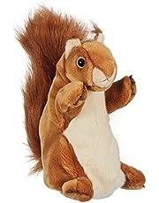 The Puppet Company Lalka z długim rękawem wiewiórka, czerwona, PC006047