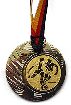 mit Emblem 25mm Gold,Silber,Bronce Medaillen Set usw - Gold Deutschland-Band Leichtathletik 50mm Stahl Silber Speerwurf Laufen Medaillenset Bronze Hochsprung