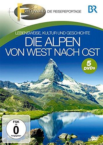 Die Alpen von West nach Ost [5 DVDs]