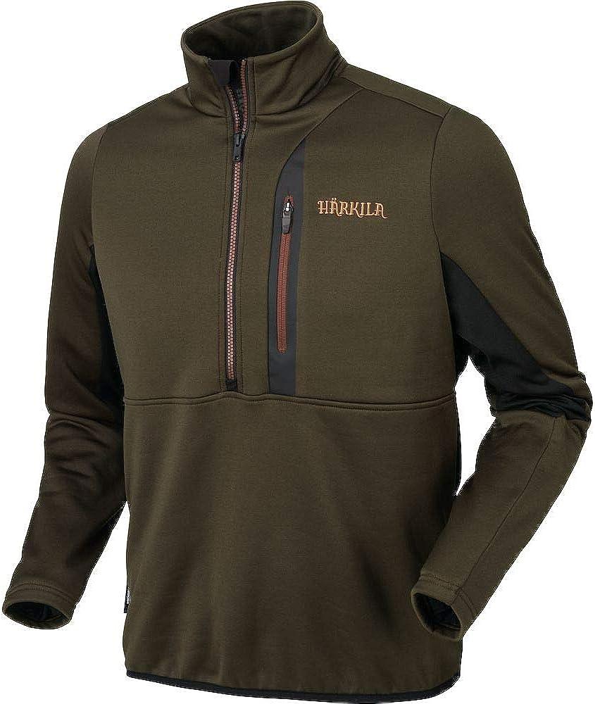 Harkila Tidan Hybrid Half Zip Fleece Jacket