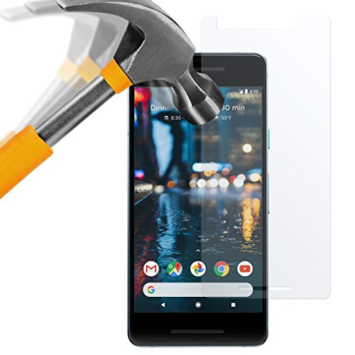 moodie Panzerglas Folie für Google Pixel 2 [2 Stück] Premium Glasfolie 9H Panzerglasfolie für Google Pixel 2