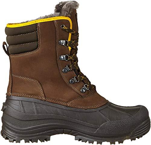CMP Męskie buty zimowe Kinos, brązowy - Braun Chocolate Q935-43 EU