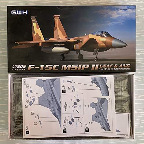 LNRL7205 1:72 Great Wall Hobby F-15C Eagle MSIP II USAF & ANG [Model Building KIT]