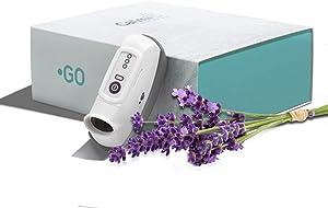 CalmiGo Anxiousness & Stress-Relief Natural Calming Device, Lavender Scent, Grey