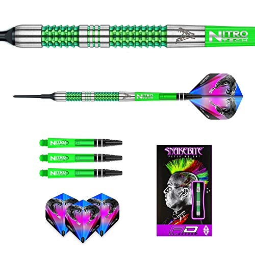 Red Dragon Peter Wright Snakebite Mamba Softdarts - 3