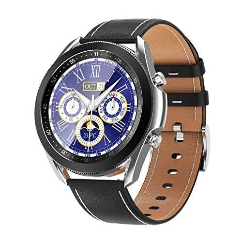 Praktische W3 Smart Watch für Männer und Frauen Sport Smart Watch Schlaf Schrittzähler Wecker Smart Watch Silber