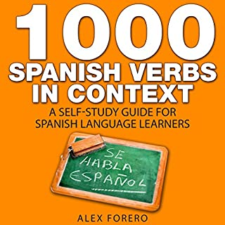1000 Spanish Verbs in Context cover art
