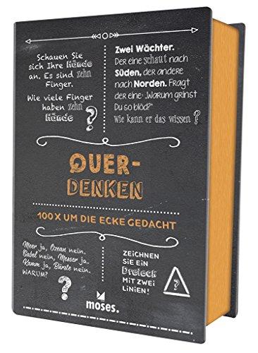 Quiz-Box Querdenken. 100 X Um Die Ecke Gedacht (Quiz-Boxen)