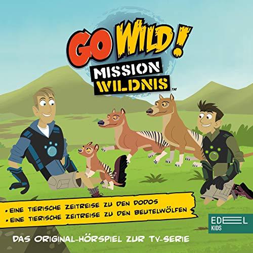 Eine tierische Zeitreise zu den Dodos / Eine tierische Zeitreise zu den Beutelwölfen. Das Original-Hörspiel zur TV-Serie Titelbild