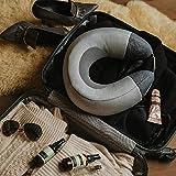 Breo aufblasbar Nackenmassagegerät mit Wärmefunktion, Reise Nackenkissen mit Shiatsu Knetung Massage, Nackenhörnchen ideal für Zuhause, Büro und Unterwegs - iNeck air2 - 5