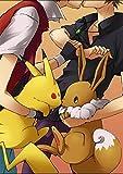 wtnhz sans Cadre Modulaire Affiche Maison Toile Peinture Anime Pokemon Mur Art Moderne Imprimé Photos Nordique Style pour Pépinière Enfants Chambre Décoration