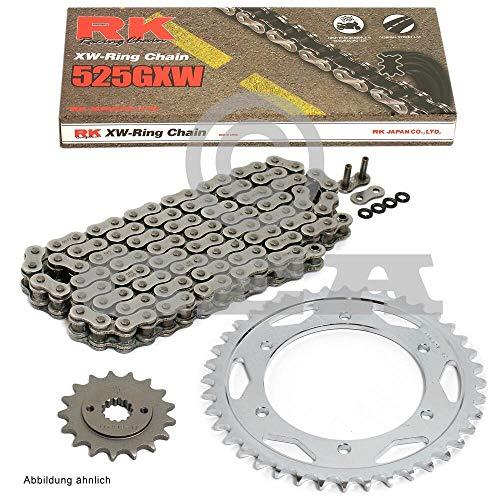 Kettensatz geeignet für Aprilia SL 750 Shiver 08-16 Kette RK 525 GXW 108 offen 16/44